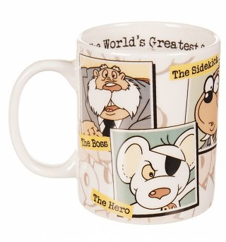 Boxed Retro Danger Mouse Mug