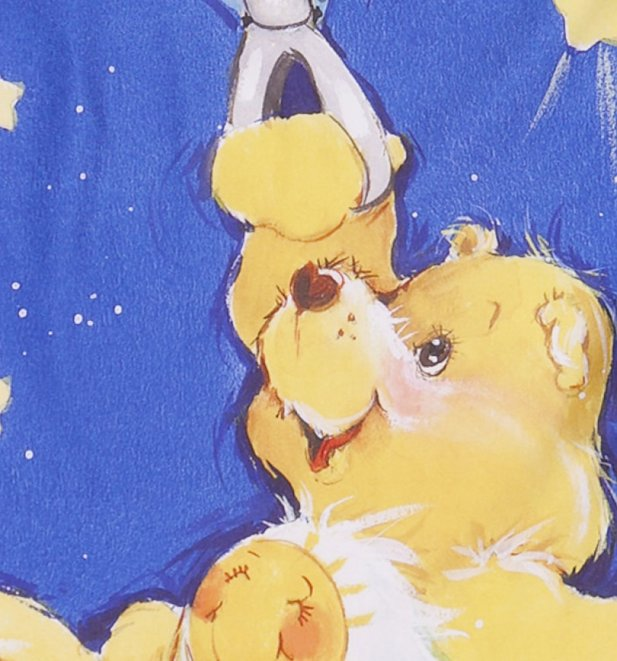 Women's Care Bears All Over Print Simple Dress