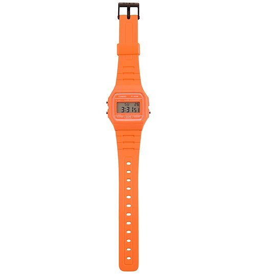 Classic Orange Watch F-91WC-4A2EF from Casio