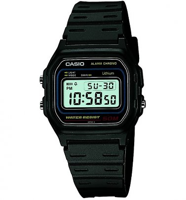Classic Black Watch W-59-1VQES from Casio