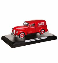 Coca-Cola 1940 Ford Sedan Delivery Van 1:24 Scale Diecast Model