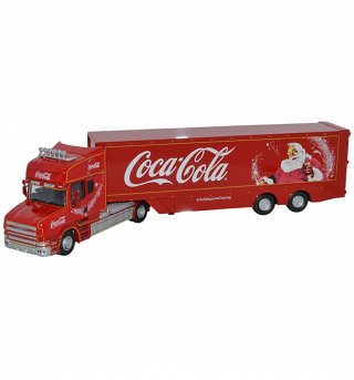 Coca-Cola Christmas Holidays Are Coming Truck 1:76 Scale Diecast Model