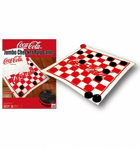Coca-Cola Jumbo Checker Rug Game : ShopCoke.com