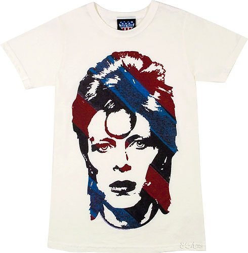 David Bowie Women's T-shirt from Junk Food