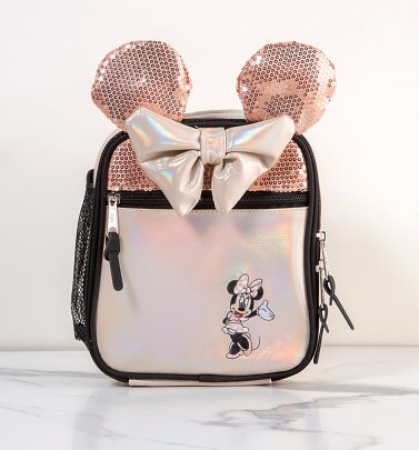 Disney Minnie Mouse Rose Gold Lunchbox from Hype