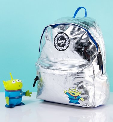 Disney Pixar Toy Story Alien Metallic Backpack from Hype