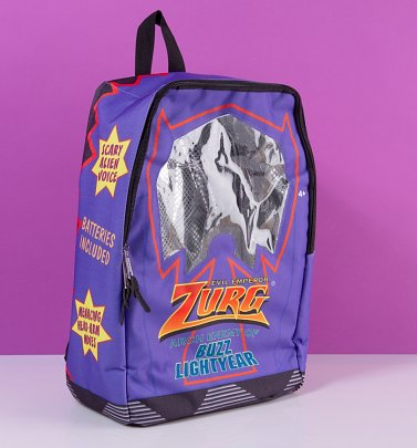 Disney Pixar Toy Story Evil Emperor Zurg Box Backpack from Hype