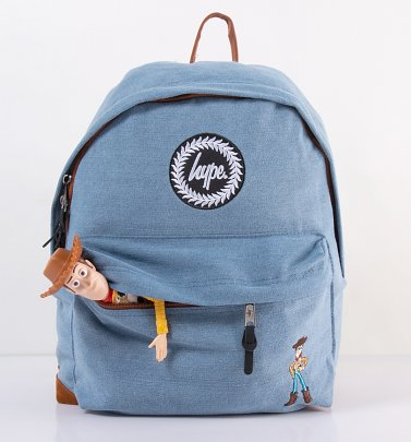 Disney Pixar Toy Story Woody Denim Backpack from Hype