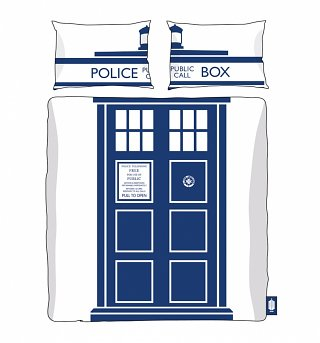 Double Doctor Who TARDIS Duvet Cover Set from BBC Worldwide