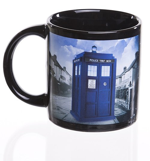 Doctor Who Heat Changing Tardis Mug