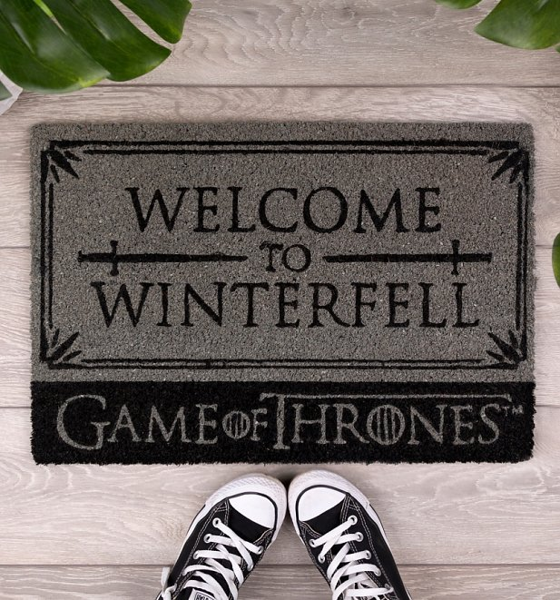 Game Of Thrones Welcome To Winterfell Door Mat