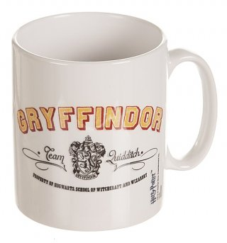 Harry Potter Gryffindor Team Quidditch Mug