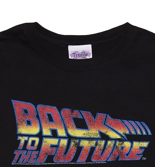 Women's Back To The Future Delorean Firetracks T-Shirt