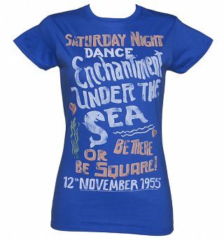 Women's Back to the Future Enchantment Under The Sea T-Shirt