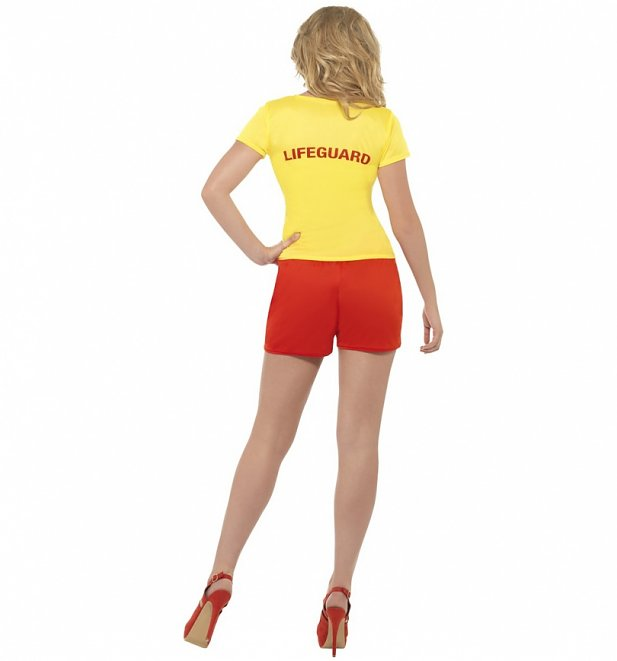 Women's Baywatch Beach Fancy Dress Costume