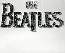 Women's Beatles Logo White T-Shirt from Amplified Vintage