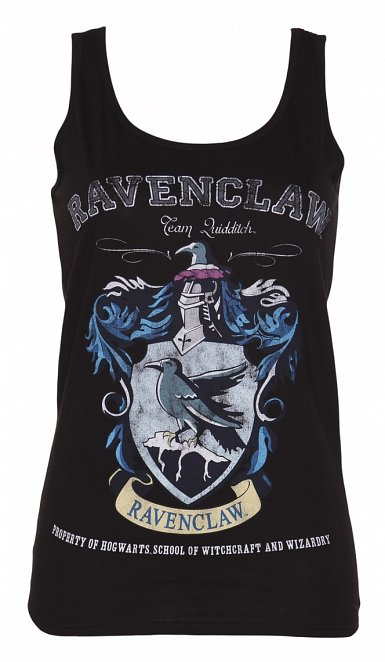Women's Black Harry Potter Ravenclaw Team Quidditch Vest