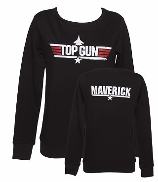 Women's Black Top Gun Maverick Sweater