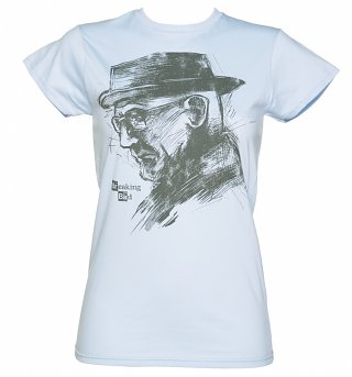 Women's Breaking Bad The One Who Knocks Sketch T-Shirt