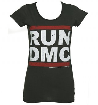Women's Classic Run DMC Logo T-Shirt from Amplified