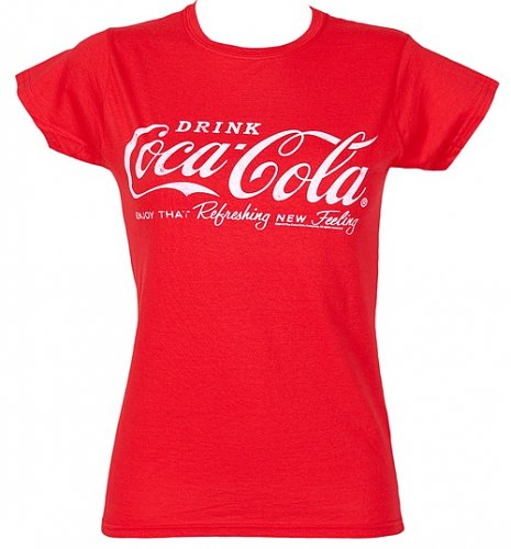 Women's Drink Coca-Cola Logo T-Shirt