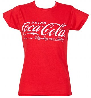 Women's Coca-Cola Logo T-Shirt