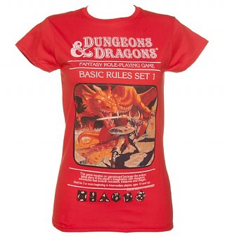 Women's Dungeons and Dragons T-Shirt