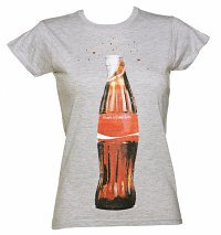 Women's Grey Share a Coke Bottle T-Shirt