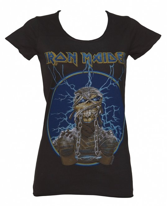 Women's Iron Maiden Mummy T-Shirt from Amplified