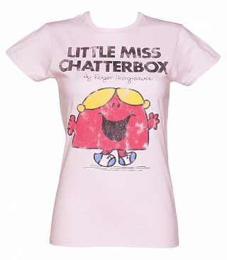 Women's Little Miss Chatterbox T-Shirt