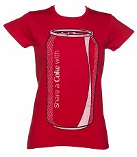 Women's Share a Coke Can T-Shirt
