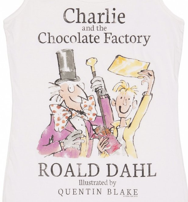 Women's Roald Dahl Charlie And The Chocolate Factory Vest