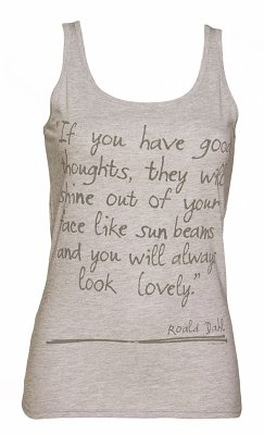 Women's Roald Dahl Good Thoughts Vest