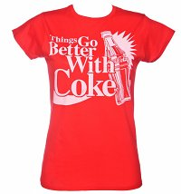 Women's Things Go Better With Coke T-Shirt