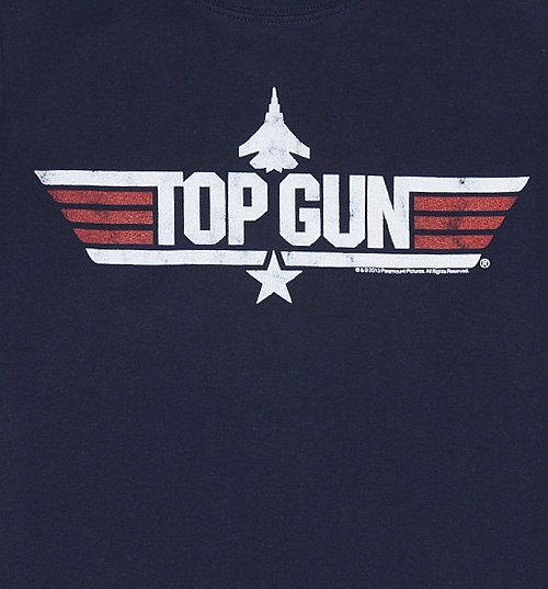 Women's Top Gun Iceman Fitted T-Shirt