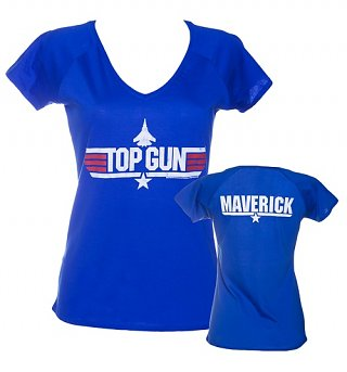 Women's Top Gun Maverick V-Neck T-Shirt