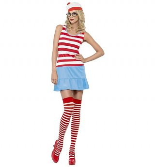 Women's Where's Wally Fancy Dress Costume