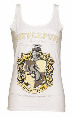 Women's White Harry Potter Hufflepuff Team Quidditch Vest