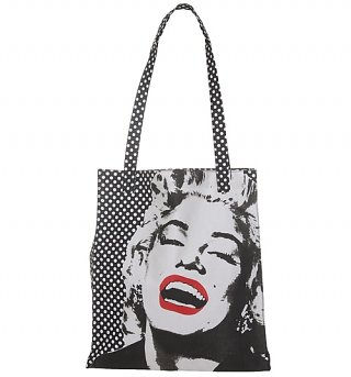 Marilyn Monroe Canvas Shopper Bag