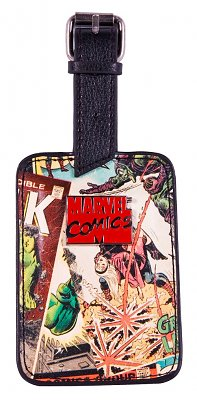 RE-PHOTOGRAPH - Marvel Comics Characters Luggage Tag