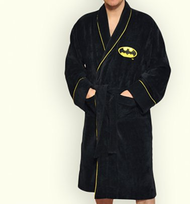 Men's Batman Dressing Gown