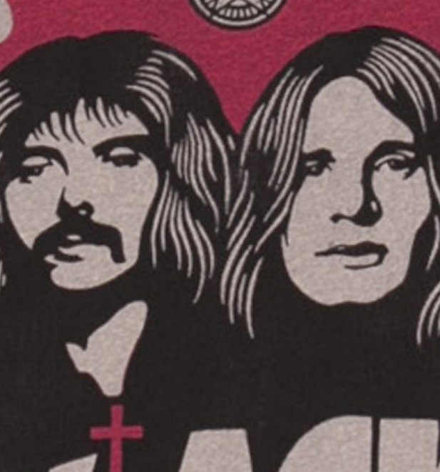 Men's Charcoal Black Sabbath T-Shirt from Amplified