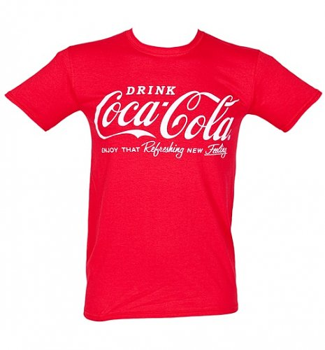 Men's Coca-Cola Logo T-Shirt
