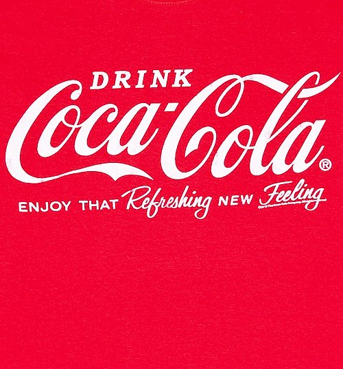 Men's Drink Coca-Cola Logo T-Shirt