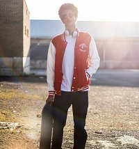 Men's Coca-Cola University Varsity Jacket