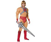 Men's He-Man Fancy Dress Costume
