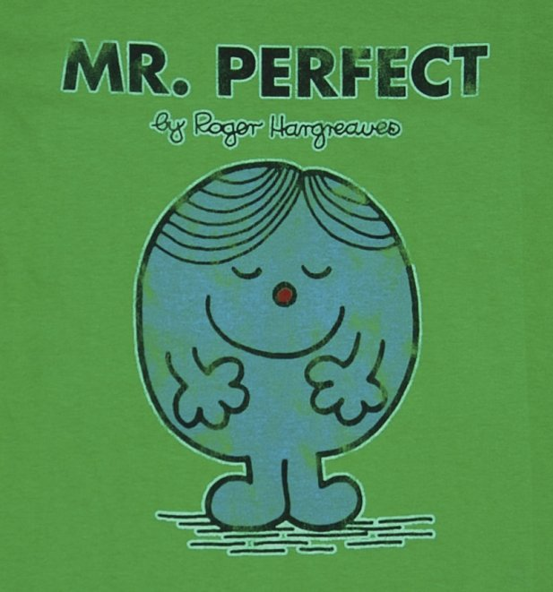 Men's Mr Perfect Mr Men T-Shirt