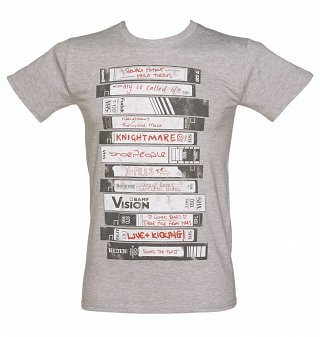 Men's Old School Video Tapes Collection T-Shirt