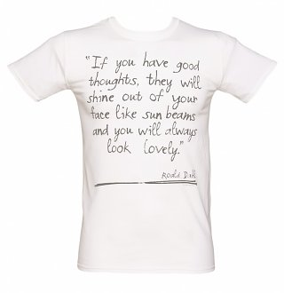 Men's Roald Dahl Good Thoughts T-Shirt