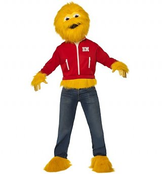 Men's Sugar Puffs Honey Monster Fancy Dress Costume